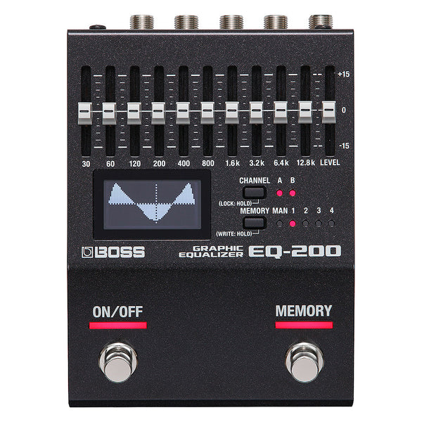 Boss EQ200 Graphic Equalizer Effects Pedal
