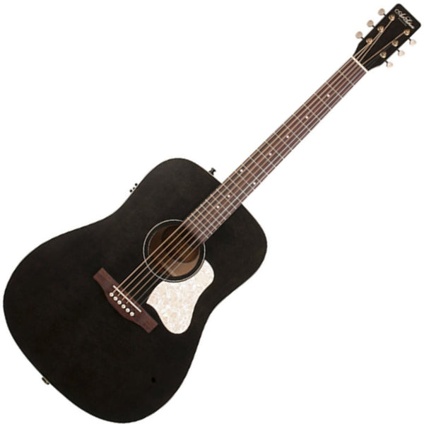 Art & Lutherie Americana Acoustic Electric in Faded Black - 42470