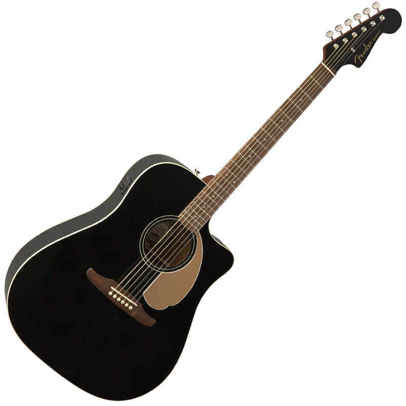Fender 0970713506 Redondo Player Acoustic Electric in Jetty Black
