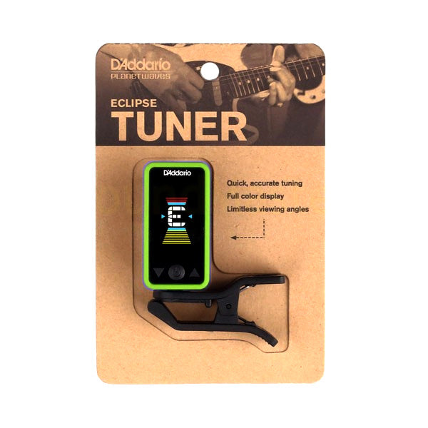 Planet Waves PWCT17GN Eclipse Chromatic Guitar Tuner in Green