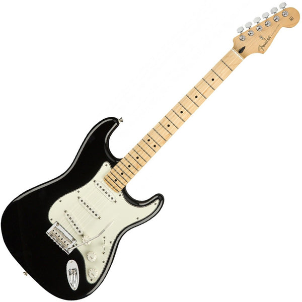 Fender 0144502506 Player Stratocaster Electric Guitar Maple Neck in Black