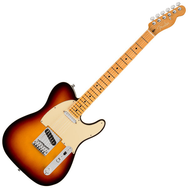 Fender American Ultra Telecaster Electric Guitar Maple in Ultraburst with Case - 118032712