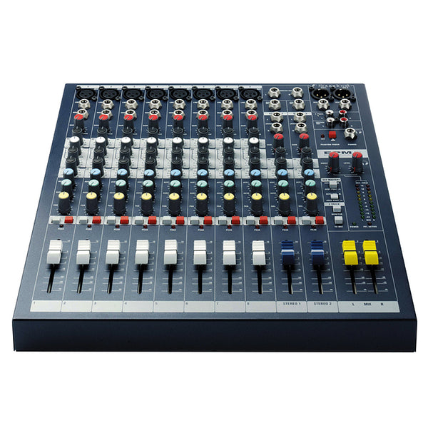Soundcraft EPM8 12 Channel Non Powered Mixer w/8 Mic Inputs