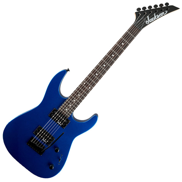 Jackson JS11 Dinky  Electric Guitar in Metallic Blue - 2910121527