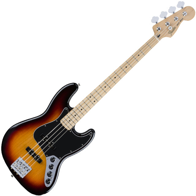Fender 0143512300 Deluxe Active Jazz Bass Guitar in 3 Color Sunburst