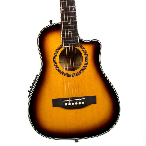 Beaver Creek BCRB501CEVSB Travel Cutaway Acoustic Electric in Vintage Sunburst
