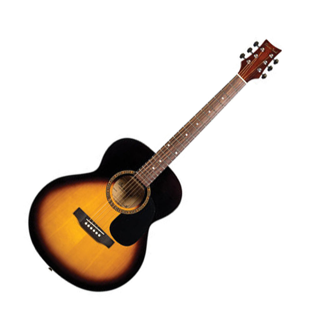 Beaver Creek BCTF101VSB Folk Acoustic Guitar in Vintage Sunburst