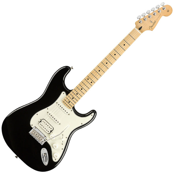 Fender 0144522506 Player Stratocaster Electric Guitar HSS Maple Neck in Black