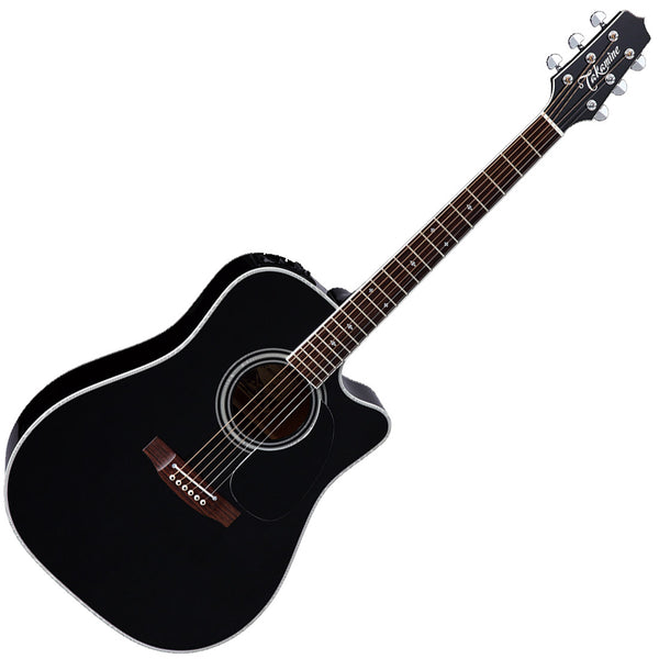 Takamine G 15 Series Dreadnought Acoustic Electric in Black - GD15CEBLK