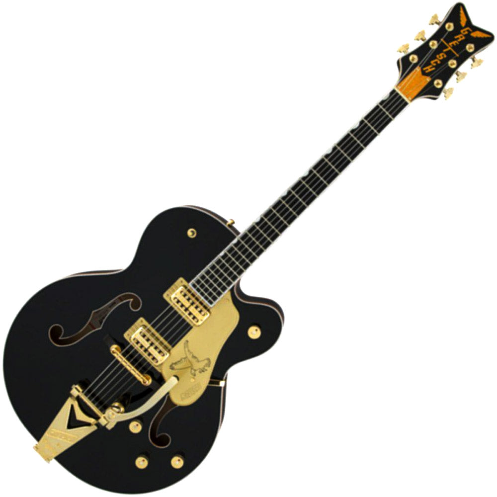 Gretsch 2401502806 Hollow Body Electric Guitar G6136T Players Edition Black Falcon with Bigsby