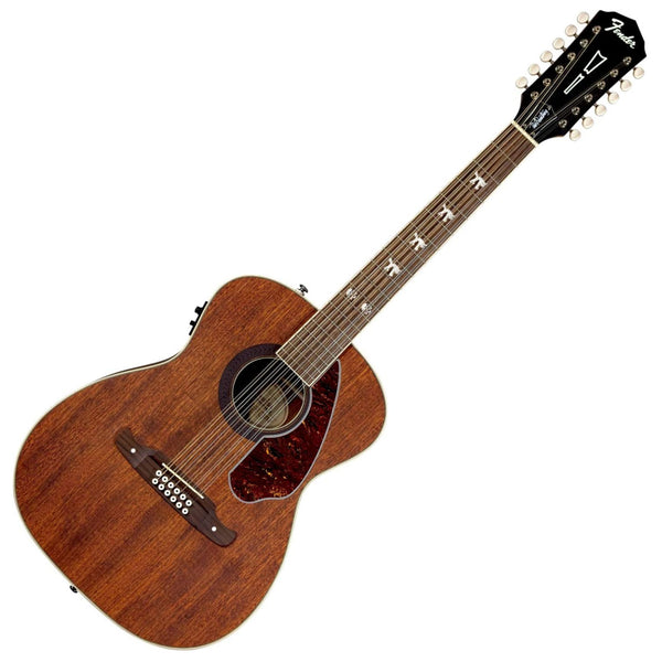 Fender Tim Armstrong Hellcat 12 String All Mahogany Acoustic Electric in Natural - 0971792022