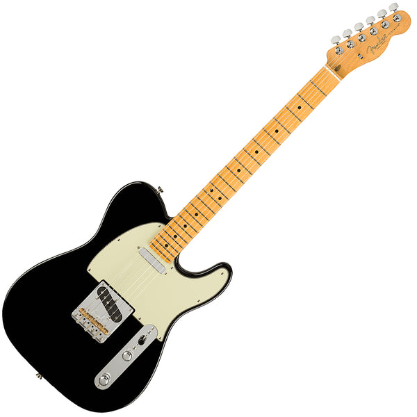 Fender American Professional II Telecaster Electric Guitar Maple Black w/Case - 0113942706