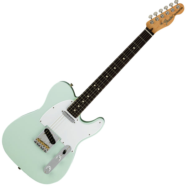 Fender 0115110372 American Performer Telecaster Electric Guitar Rosewood in Satin Sonic Blue w/Bag