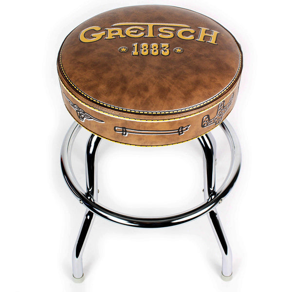 "Gretsch 9124756020 24"" 1883 Logo Bar Stool"
