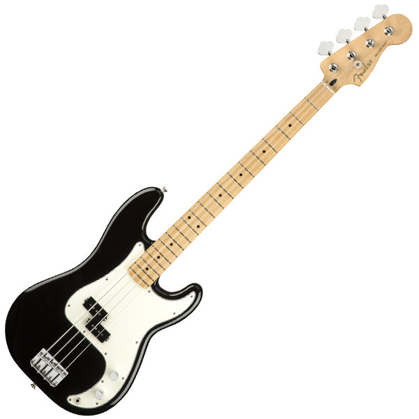 Fender Player Precision Bass Guitar Maple Neck in Black - 149802506