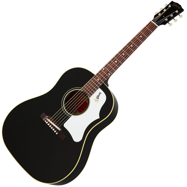 Gibson 60s J-45 Original Acoustic Guitar in Ebony with Case - ACO456EBNH
