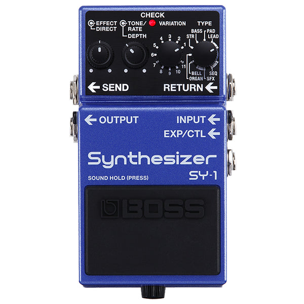 Boss SY1 Synth Effects Pedal