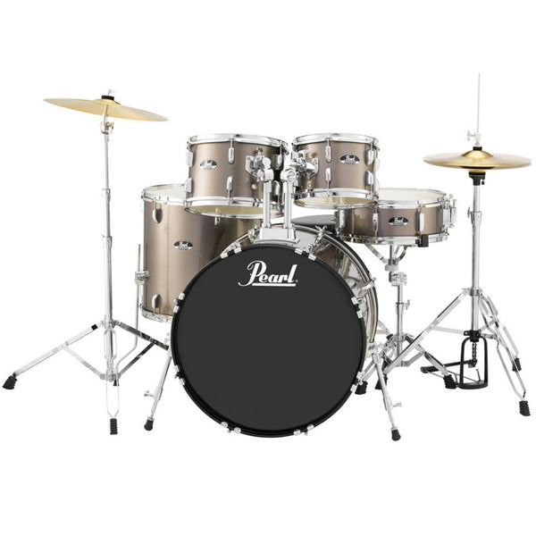 Pearl Road Show 5 Piece Drum Kit in Bronze Metallic - RS525SCC707