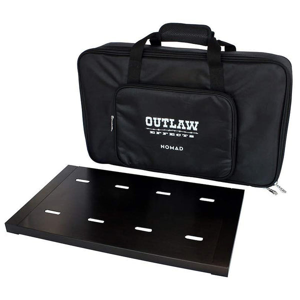 "Outlaw Effects Nomad 19.25"" x 11"" Rechargeable Powered Effects Pedal Board - NOMADM128"