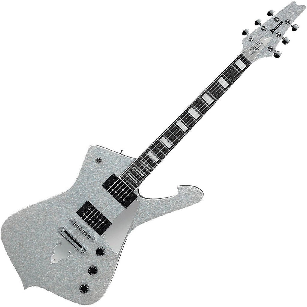 Ibanez PS60SSL Paul Stanley Signature Electric Guitar in Silver