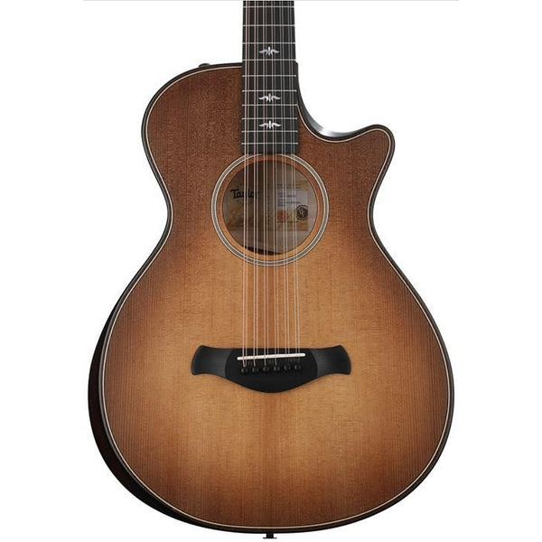 Taylor GC 12 String V-Class Builder's Edition Acoustic Electric Maple Torrefied Spruce in Wild Honey Burst w/Case - 652CEBEWHB