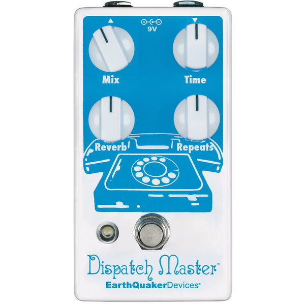 Earthquaker DISPATCHMASTER3 V3 Delay and Reverb Effects Pedal