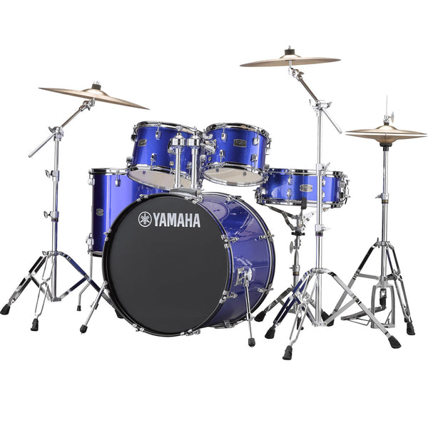 Yamaha Rydeen 5 Piece Drum Set in Fine Blue - RDP2561FB