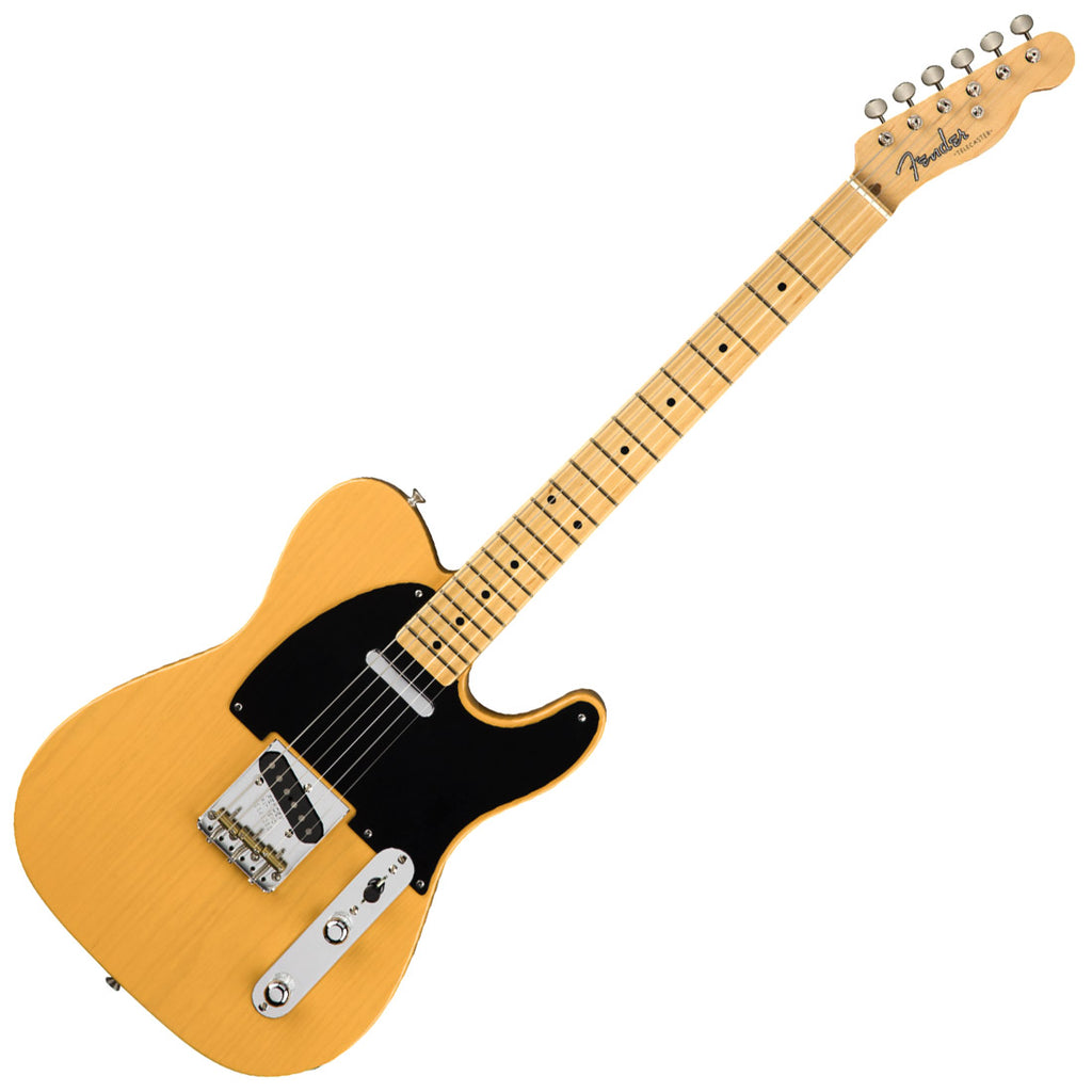 Fender 0110132850 American Original 50s Telecaster Electric Guitar Maple in Butterscotch Blonde