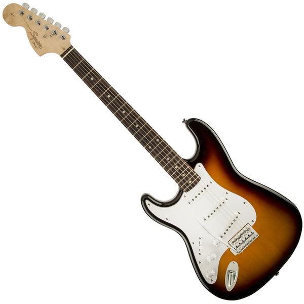 Squier 0370620532 Left Handed Affinity Stratocaster Electric Guitar in Sunburst