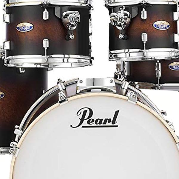 Pearl DMP927SPC260 Decade Maple 7 Piece Shell Pack in Satin Brown Burst