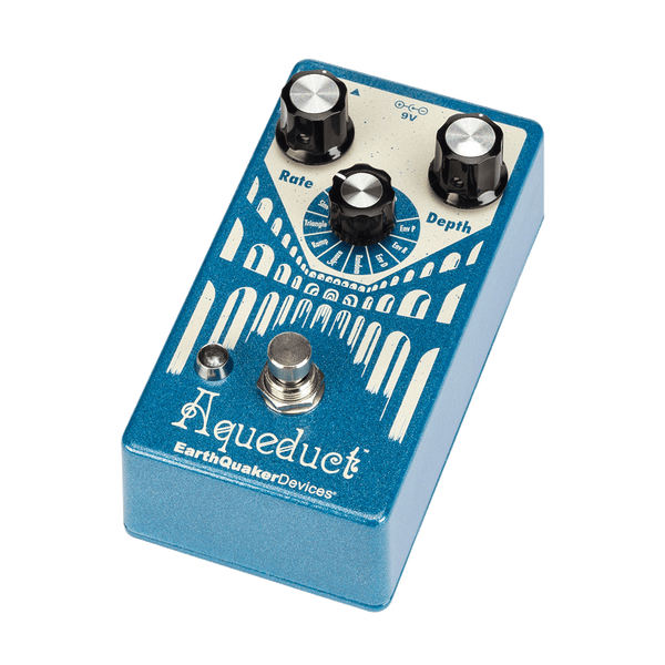 Earthquaker AQUEDUCT Vibrato Effects Pedal