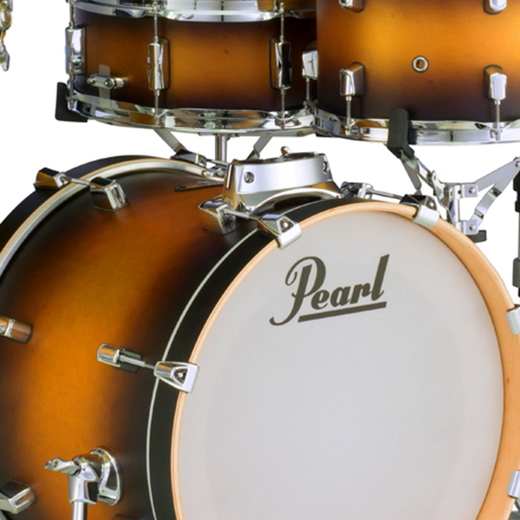 Pearl 4 Piece Decade Maple Bop Kit with Hardware Satin Sahara Burst - DMP984PC223HWP8