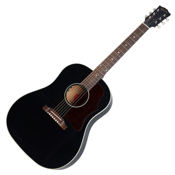 Gibson 50s J-45 Original Acoustic Electric in Ebony w/Case - ACO455EBNH