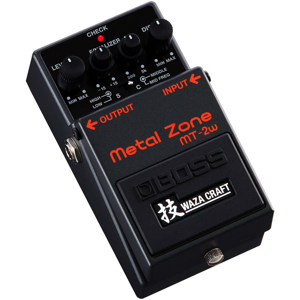 Boss MT2W WAZA Craft Metal Zone Distortion Effects Pedal