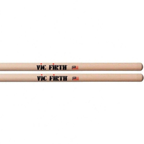 Vicfirth VF2B American Classic 2B Hickory Wood Tip Drum Sticks (Single Pair)