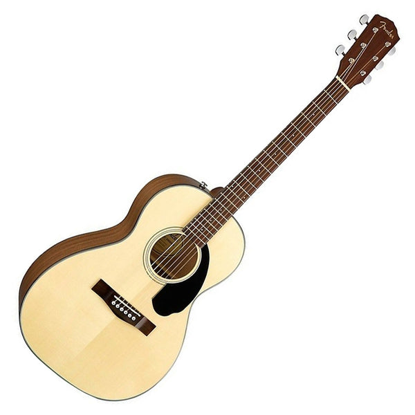 Fender CP-60S Parlor Solid Top Acoustic Guitar in Natural - 970120021
