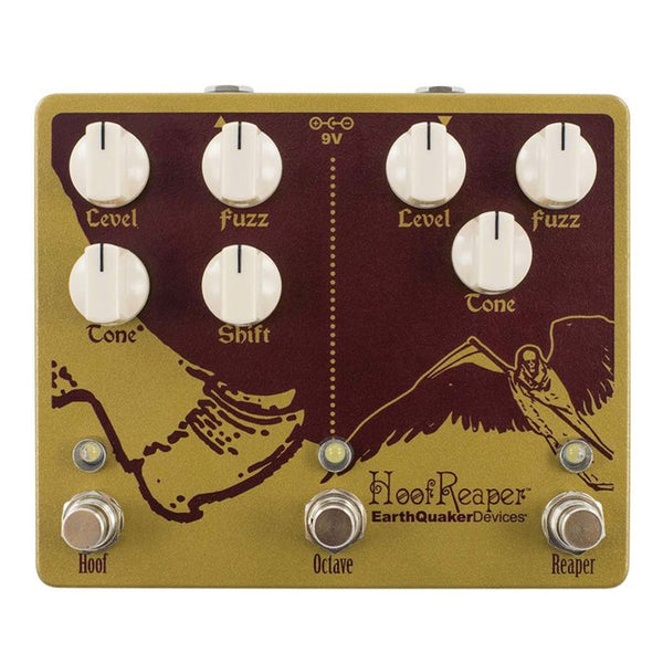 Earthquaker HOOFREAPER2 Hoof Reaper Dual Fuzz Octave Effects Pedal V2