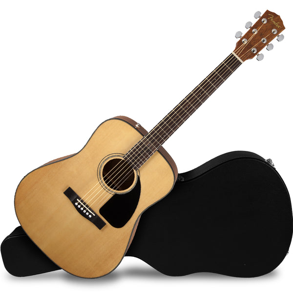 Fender CD60 Dreadnought V3 Acoustic Guitar in Natural - 0970110221