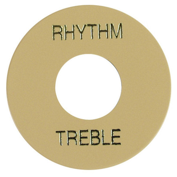 Gibson Cream Rhythm/Treble Switch Washer - WA030