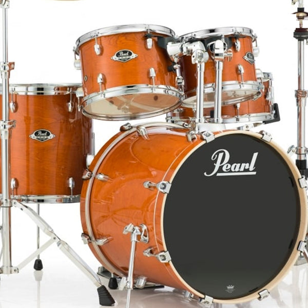 Pearl EXL725C249 Export Lacquer 5 Piece Kit in Amber