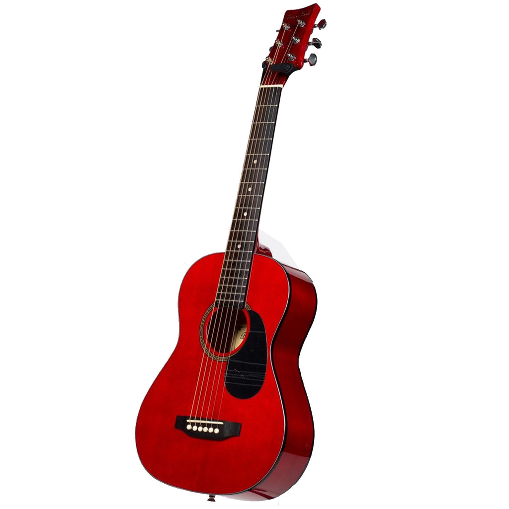 Beaver Creek BCTD401TR 1/2 Size Acoustic Guitar Red with Bag