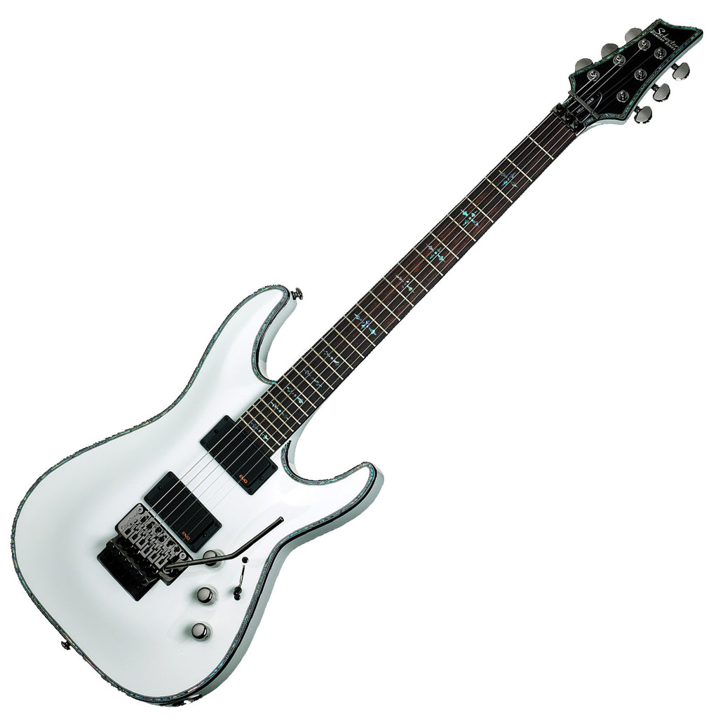 Schecter Hellraiser C-1 Floyd Electric Guitar in Gloss White - 1809SHC