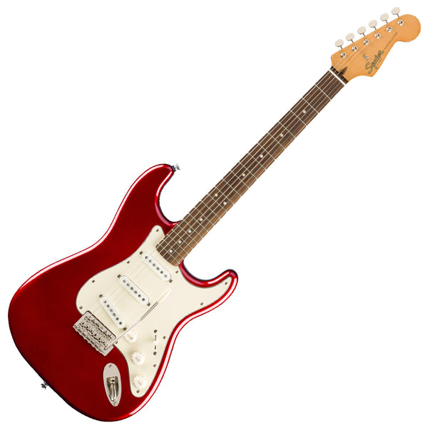 Squier Classic Vibe '60s Stratocaster Electric Guitar Laurel in Candy Apple Red - 0374010509