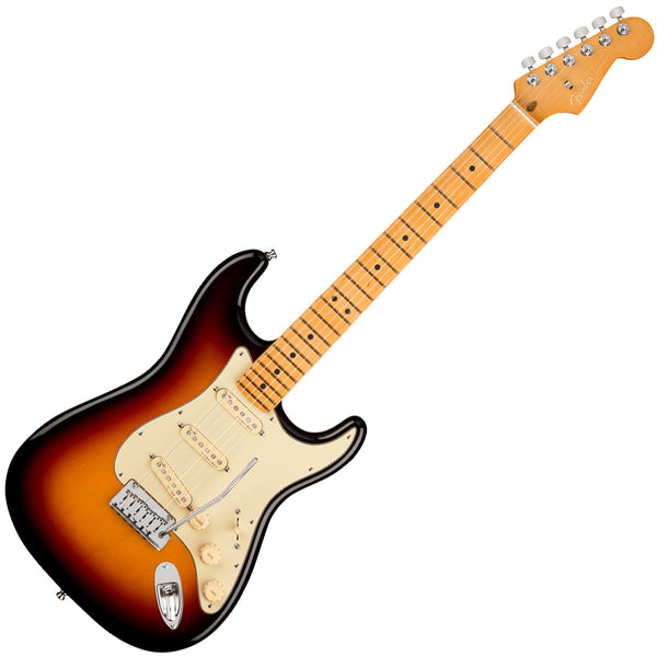 Fender American Ultra Stratocaster Electric Guitar Maple in Ultraburst with Case - 118012712