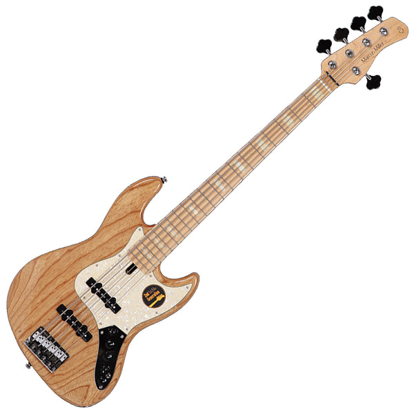 Sire Sire Marcus Miller V7 2nd Generation 5 String Bass Guitar Swamp Ash Body in Natural - V7SWAMPASH5NT