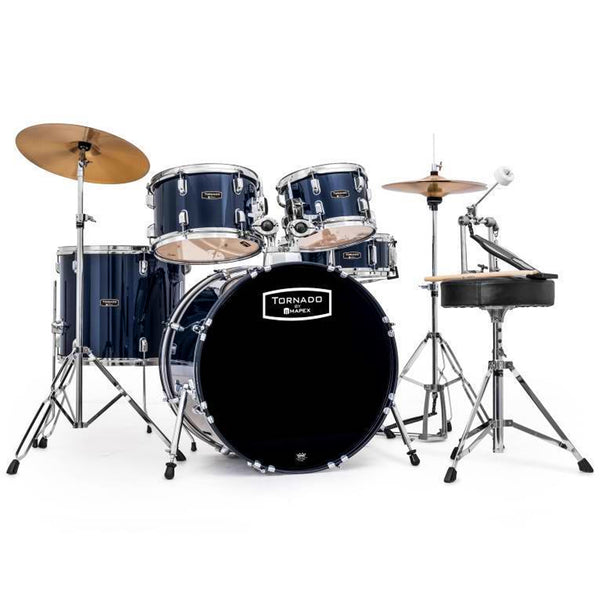 Mapex TND5294TCYB Tornado 5 Piece Rock Kit in Dark Blue