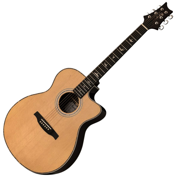 PRS SE A40E Angelus Cutaway Acoustic Electric in Natural - AE40ENA