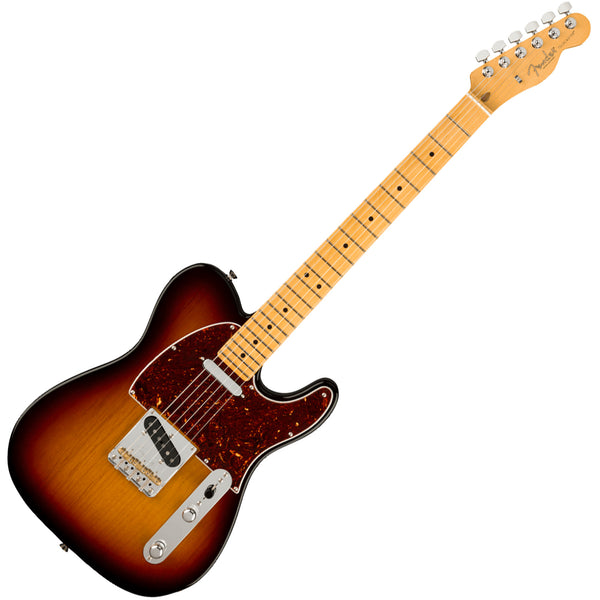 Fender American Professional II Telecaster Maple 3 Tone Sunburst Electric Guitar w/Case - 0113942700