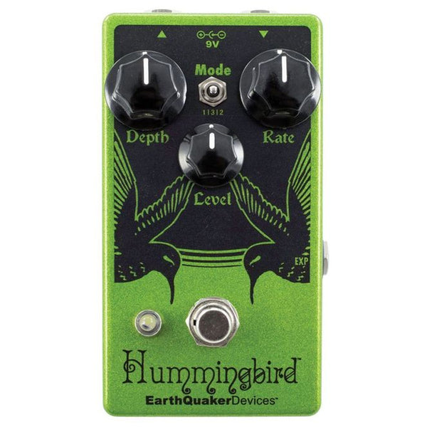 Earthquaker HUMMINGBIRD4 Repeat Percussion Tremolo Effects Pedal V4
