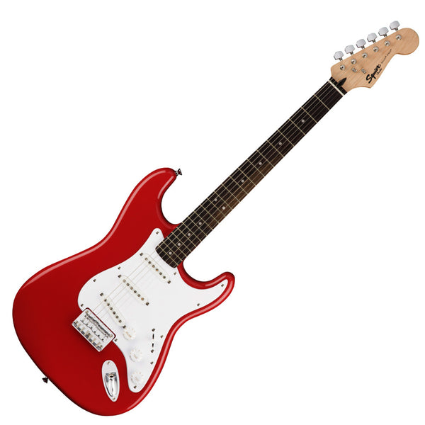 Squier 0371001540 Bullet Stratocaster Hard Tail Electric Guitar in Fiesta Red